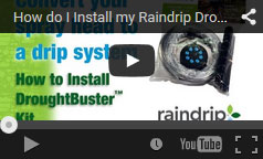 Step by step installation of our Drought Buster Kit